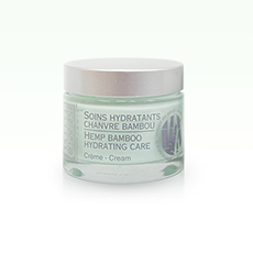 Hemp bamboo hydrating care cream